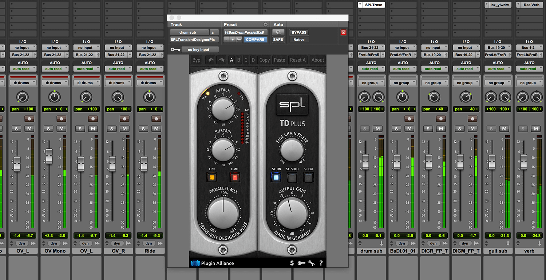 best transient designer shaper plug-ins to buy mix with SPL Transient.png