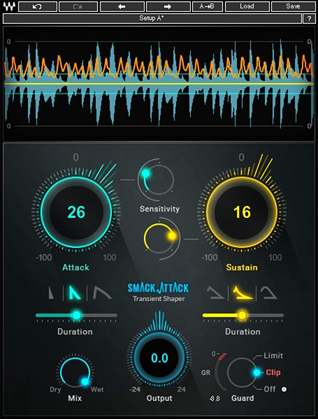 best transient designer shaper plug-ins to buy mix with Smack Attack - Waves.jpg