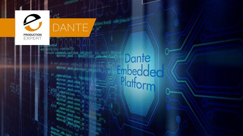 Dante As Software Banner