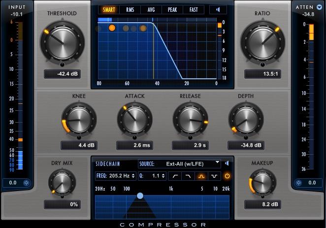 dialog recording mixing compression