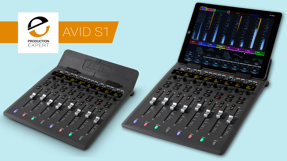 Avid S1 EUCON Control Surface Announced - What You Need To Know