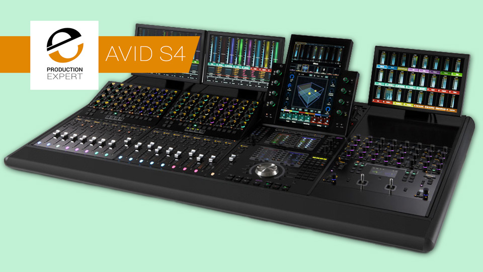 Avid S4 Control Surface Announced As The Replacement To The Avid S6 M10 Control Surface