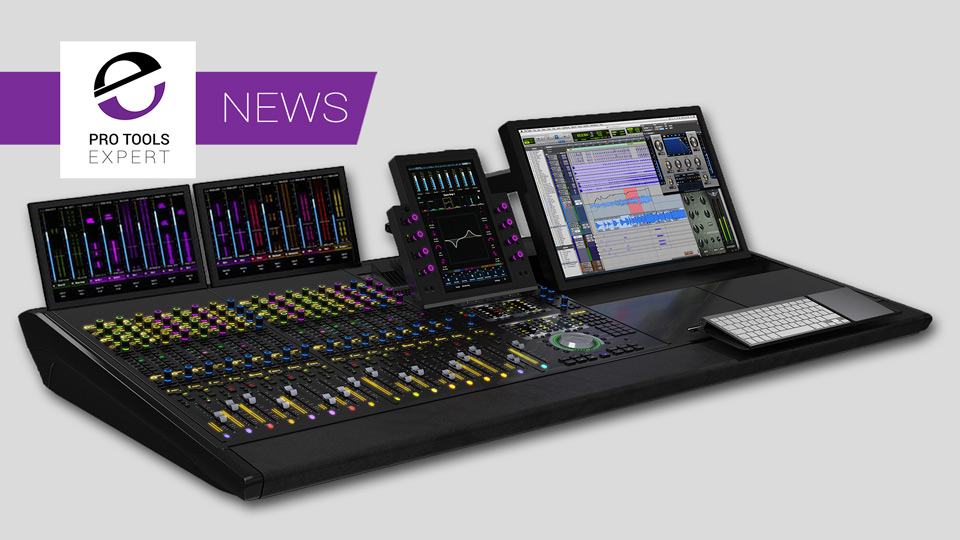 Avid S6 M10 with display panels