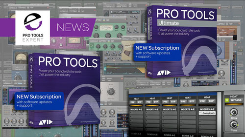 Avid Are Changing Pro Tools Pricing On July 1st 2019 - Is