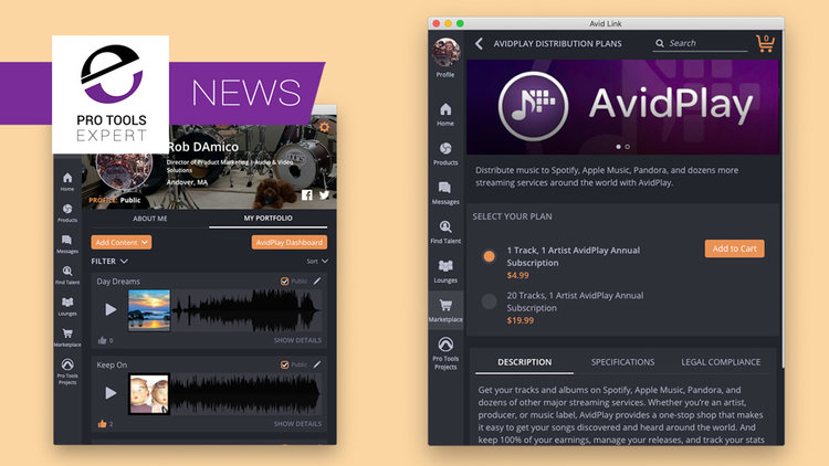 Avid Announce AvidPlay Music Distribution Service - What You Need To
