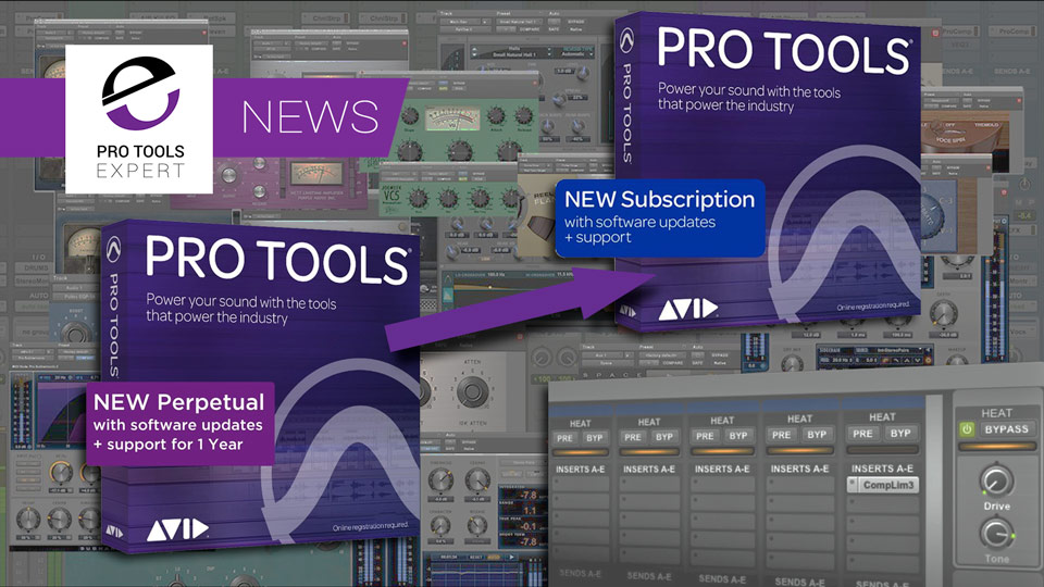 Changing From Perpetual To Subscription - Is It Worth It For Existing Pro Tools Users?