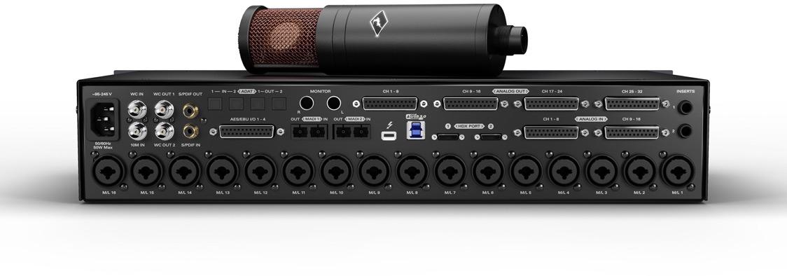 Antelope Audio 3rd-Generation Goliath HD Audio Interface Rear Panel