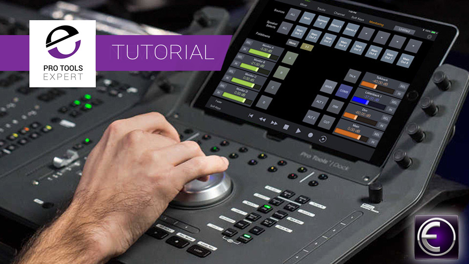 How To Use The Monitoring Section In The Free Pro Tools Control App