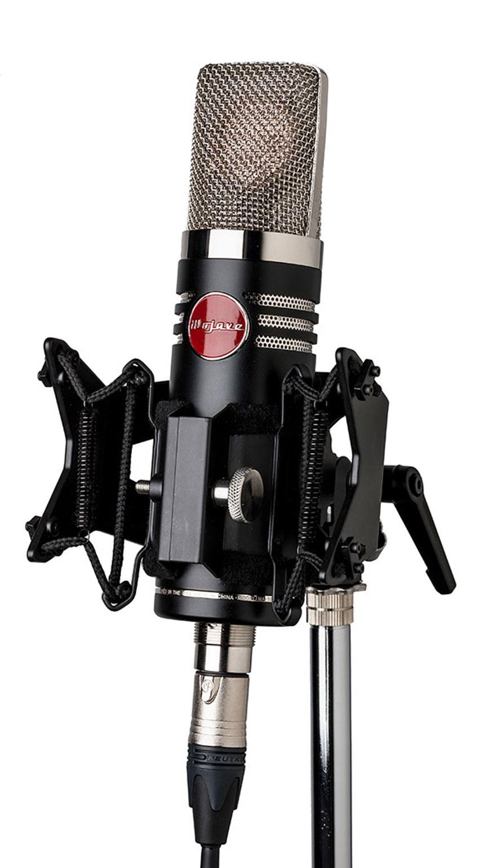 The Mojave MA-1000 valve condenser microphone.