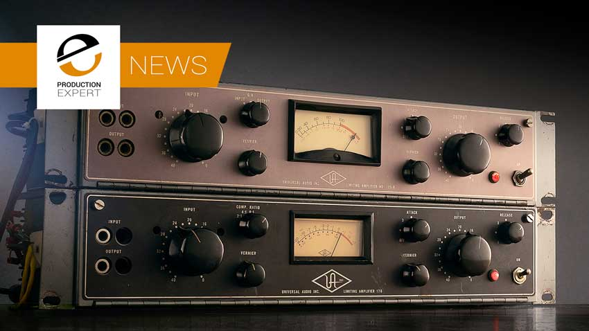 Universal Audio Announce 9.10 Of The UAD Software Featuring The New 175B And 176 Tube Compressor Collection