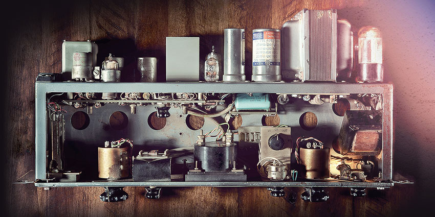 Vintage point to point wiring recreated in the new 175B & 176 Tube Compressor Collection from Universal Audio.