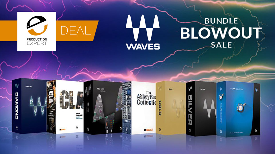 Waves Offering Bundle Blowout Sale For A Limited Period