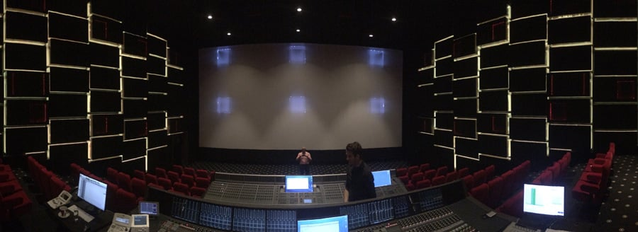 Large Dubbing Theatre