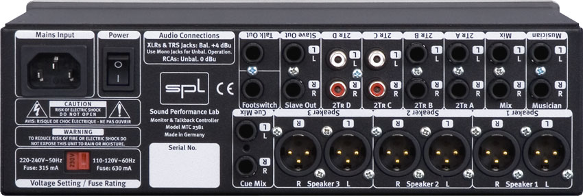 XLR and TRS jack can be both balanced forms of I/O. A Phono or RCA connection can only be unbalanced.
