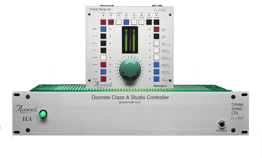 The Avocet by Crane Song. This is one of the most feature rich monitor controllers available.