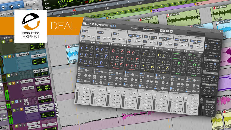 33% Discount On AIR Drum Synth 500 VI From The Avid Marketplace Until September 13th 2019