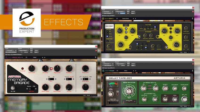 Arturia Announce 3 Delays You'll Actually Use - We've Tried Them And We Like Them