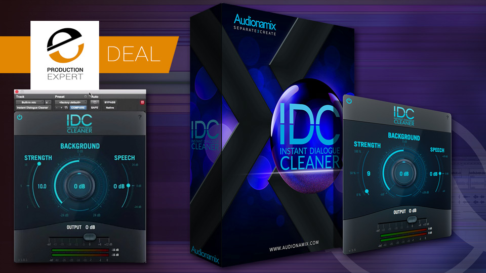 50% Off Instant Dialogue Cleaner From Audionamix Until September 20th 2019