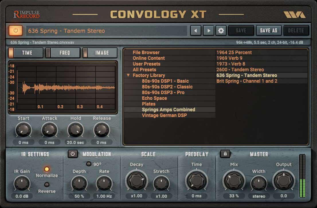 Convology XT Free Plugin