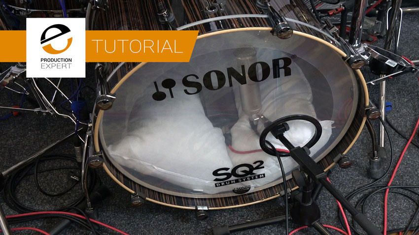 Recording Rock Kick Drum Using Two Microphones Inside The Drum