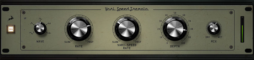 The new Vari Speed Tremelo from Antelope Audio.
