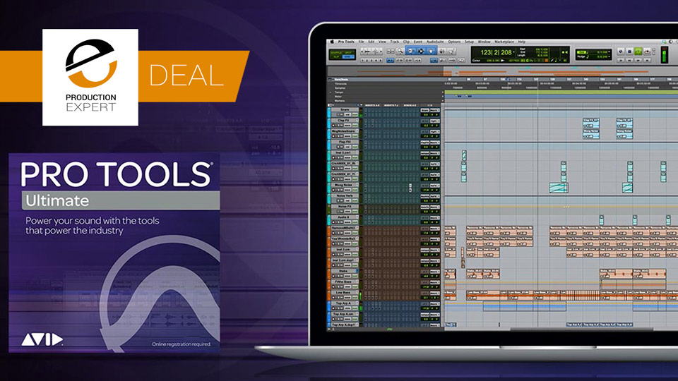 Trade-up To Pro Tools Ultimate And Save 47% Until September 30th 2019
