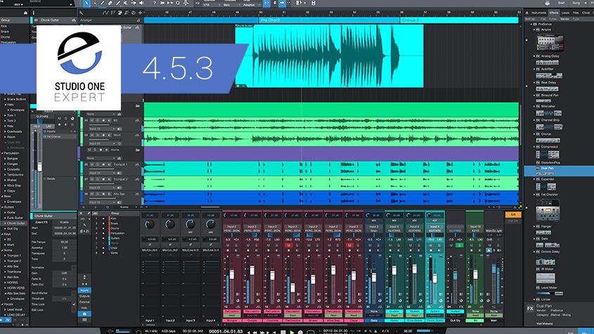 Studio One 4.5.3 Update Announced By PreSonus - 10th Anniversary Celebration News