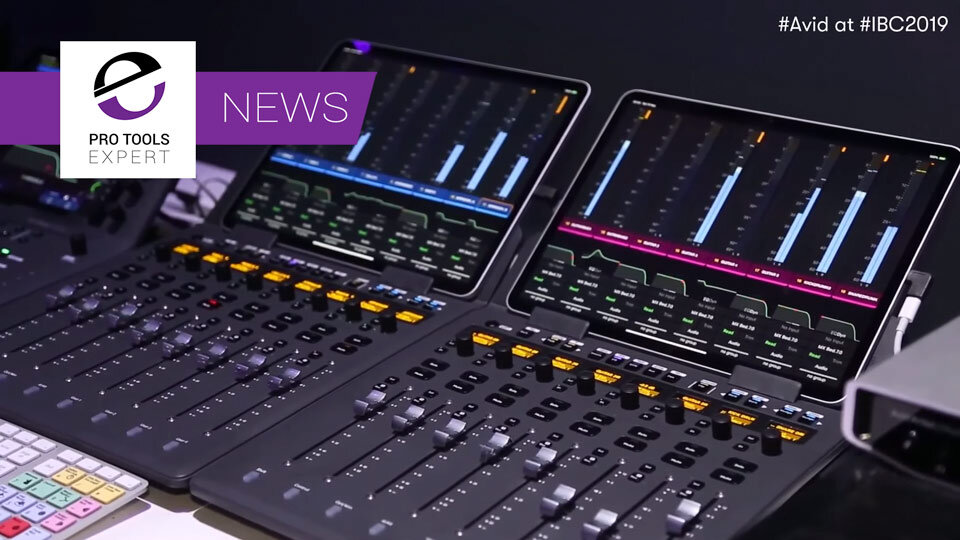 Avid Preview New S1 Control Surface And Control App At IBC 2019