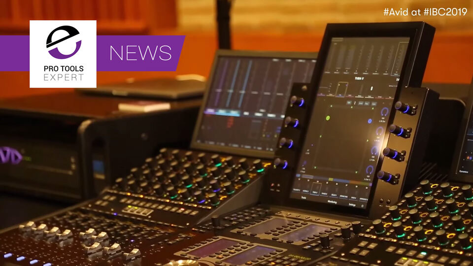 Avid Preview New S4 Control Surface And Compare The S4 With The S6 At IBC 2019