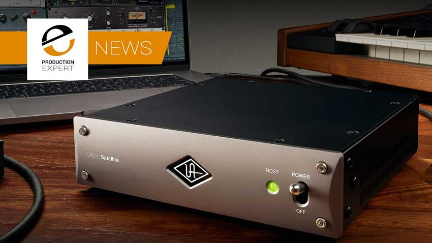 Universal Audio Announce New Thunderbolt 3 UAD-2 Satellite For Windows 10 And Mac OS