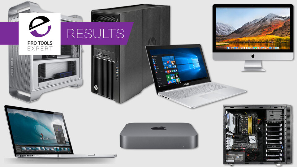 What Type And Style Of Pro Tools Computer Do You Use? - We Have The Results From 2015 And 2019