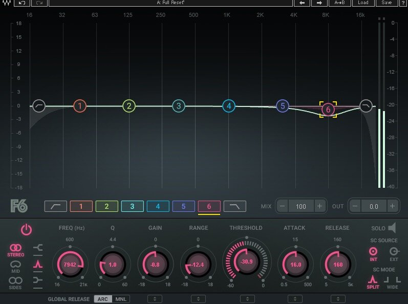 how to deharsh sibilence in drum overheads plug-in to use Waves F6.jpg