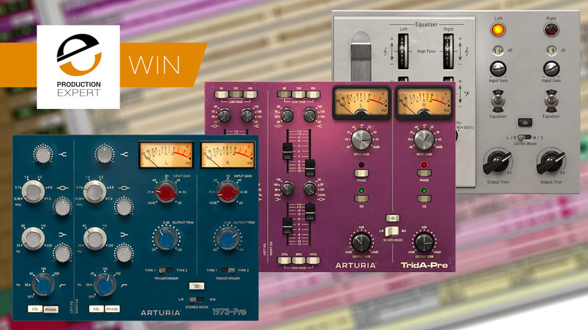 Win A Copy Of Three Preamps You'll Actually Use By Arturia