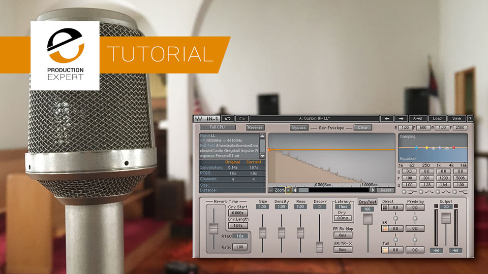 How To Capture An Impulse Response Of A Spacer And Create A Convolution Plugin Preset