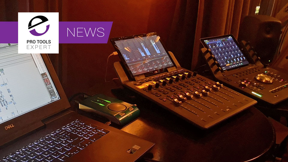 Word Exclusive Demo Of Android Version Of Avid Control App With Avid S1