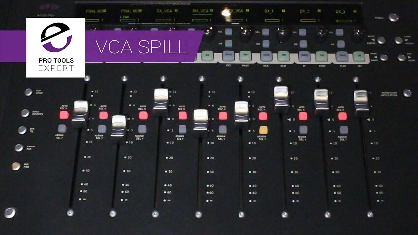 New VCA Spill Feature That Avid Sneaked Into EuControl - Check It Out