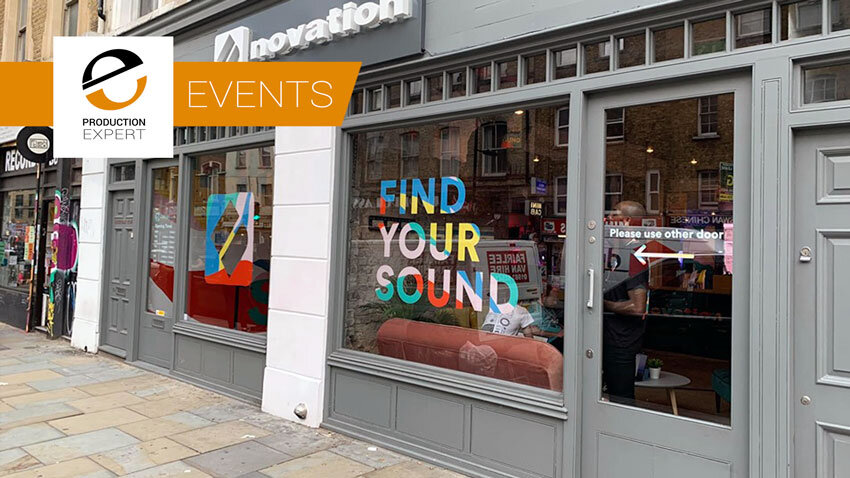Novation London - A New Pop-Up Music Store And Training Centre At The Heart Of Creative London