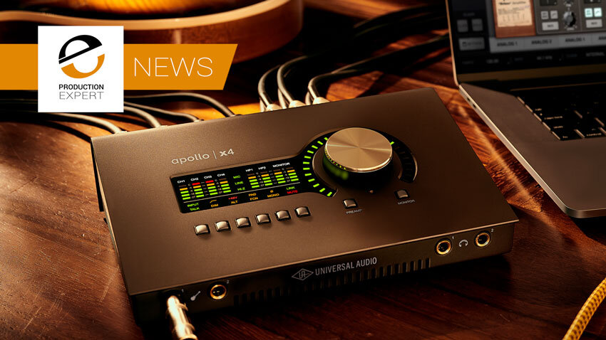 Universal Audio Launch Apollo Twin X And New Apollo x4 Desktop Audio Interfaces - Expert Review