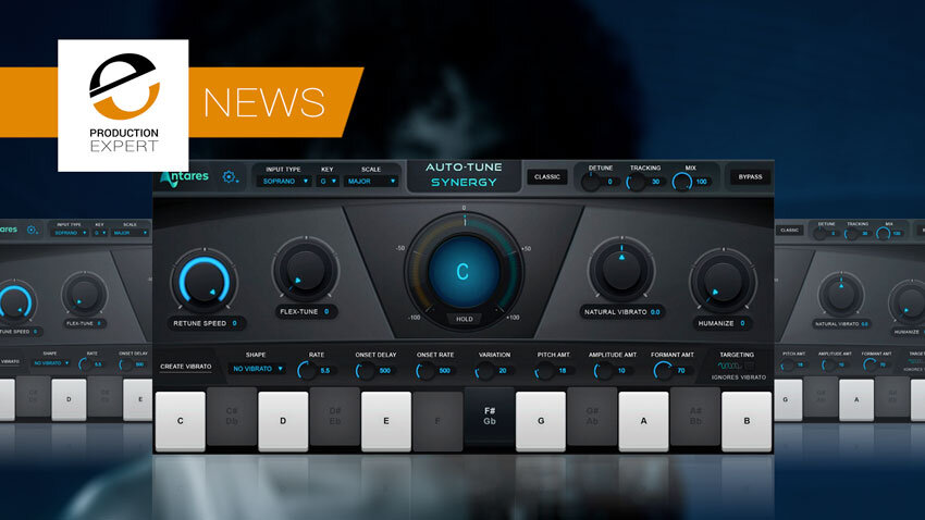 Legendary Antares Auto-Tune Now Available For Antelope Synergy Core Interfaces