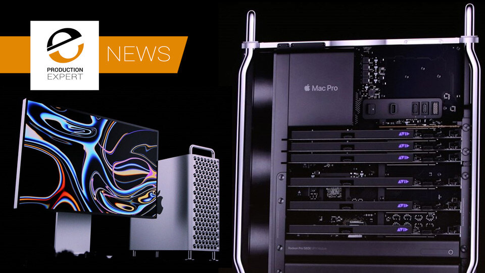 Apple Mac Pro 7,1 New Style Cheese-grater Gets US FCC Approval - The Launch Could Be Days Away