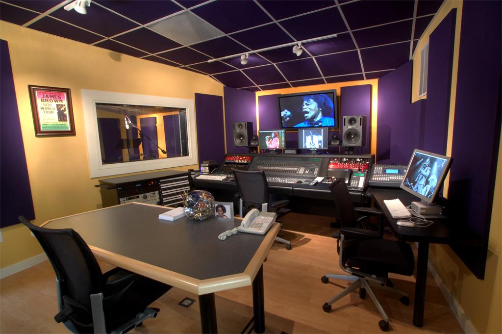 James Brown Control Room