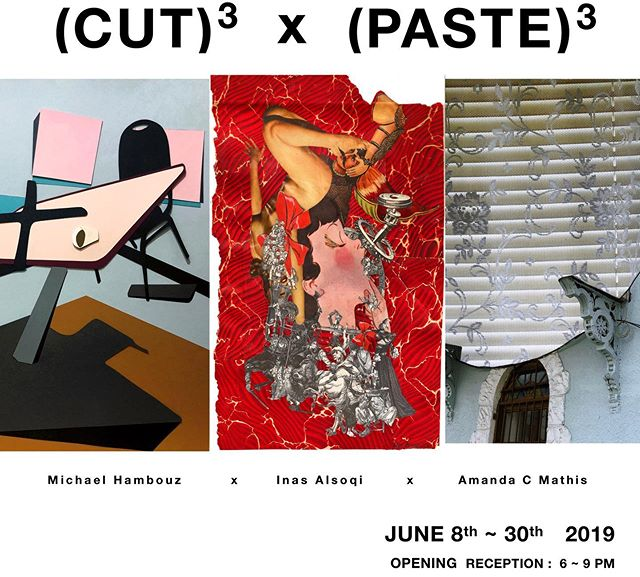 We are excited to announce our upcoming show.  3 distinct styles of collage art from @amandacmathis @inasart & @mhambouz  Opening June 8th 6-9pm.  #contemporaryart #collage #collageart #artgallery #ridgewood #queens  #nyc #lorimotogallery  #cutandpaste  #切って貼る#コンテンポラリーアート #ペインティング  #ブッシュウィック #ブルックリン #クイーンズ  #リッジウッド #アートギャラリー #ロリモトギャラリー #アートオープニング