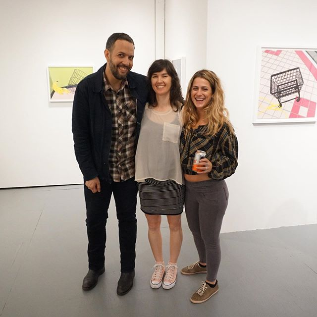 Thank you 🙏 artists !  Our collage art Dream Team !  @amandacmathis @mhambouz @inasart  #trifecta #contemporaryart #collage #collageart #artgallery #ridgewood #queens  #nyc #lorimotogallery  #cutandpaste  #切って貼る #コンテンポラリーアート #コラージュ #コラージュアート #ブッシュウィック #ブルックリン #クイーンズ  #リッジウッド #アートギャラリー #ロリモトギャラリー #アートオープニング
