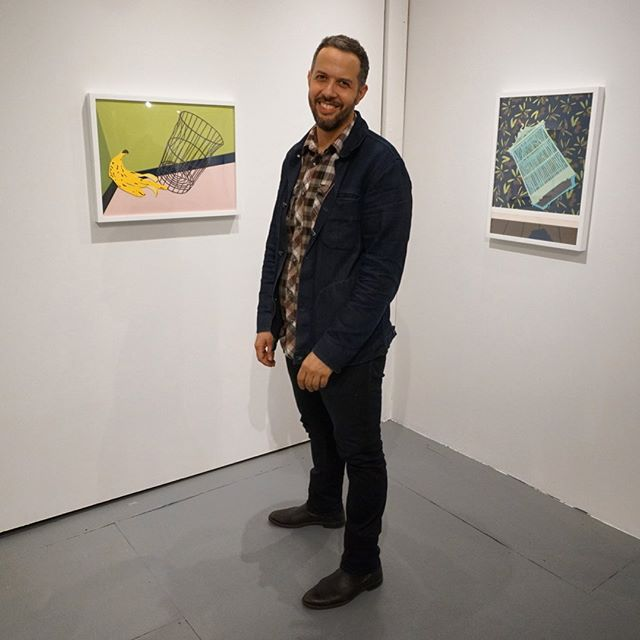 Meet the artist! @mhambouz  will be gallery sitting today from 2-6 pm . It's a beautiful day to stroll around Ridgewood and check out a trifecta of collage art. @inasart @amandacmathis #contemporaryart #collage #collageart #artgallery #ridgewood #queens  #nyc #lorimotogallery  #cutandpaste  #切って貼る #コンテンポラリーアート #コラージュ #コラージュアート #ブッシュウィック #ブルックリン #クイーンズ  #リッジウッド #アートギャラリー #ロリモトギャラリー