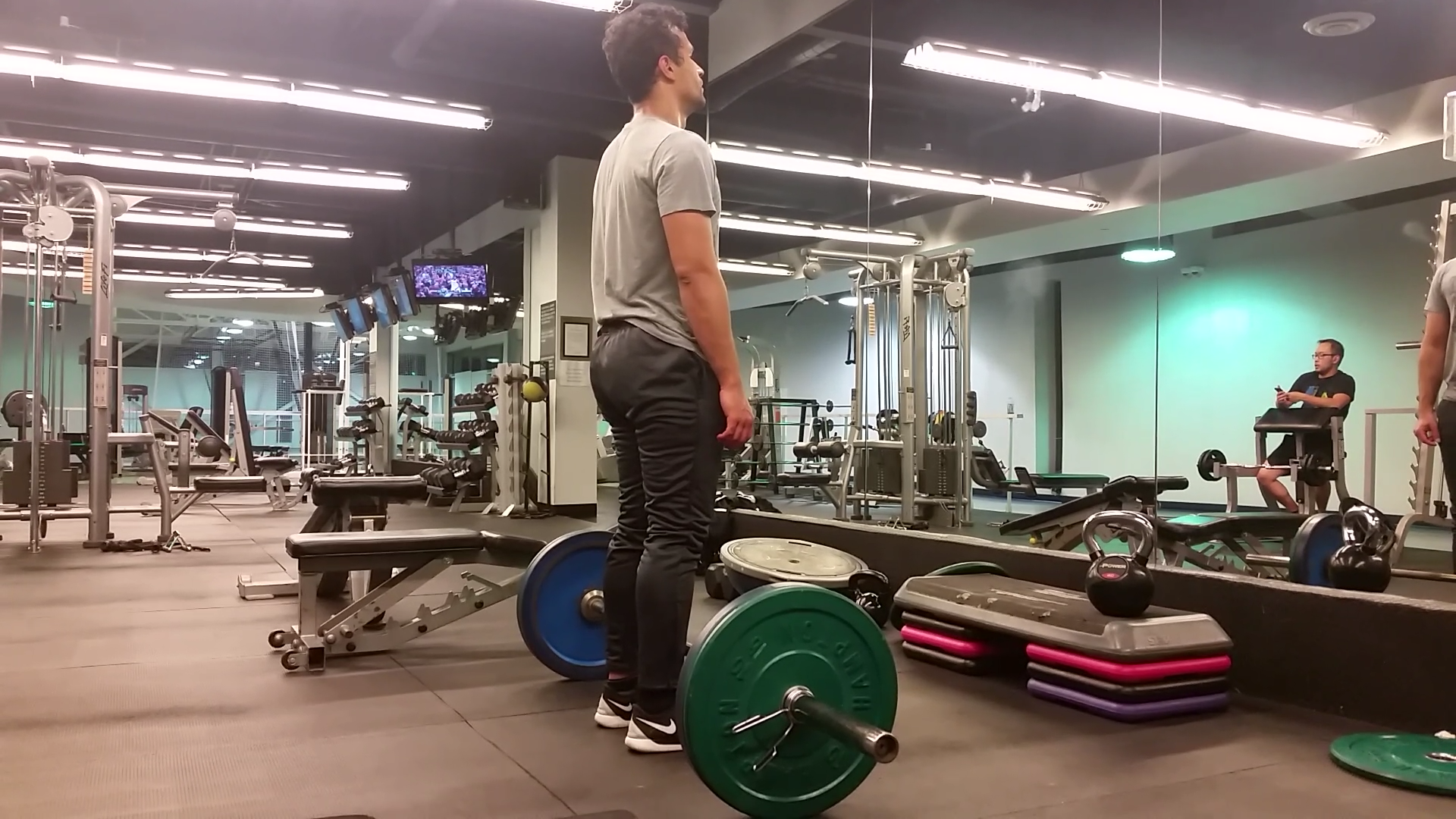 Conventional Barbell Deadlift (Back) 1