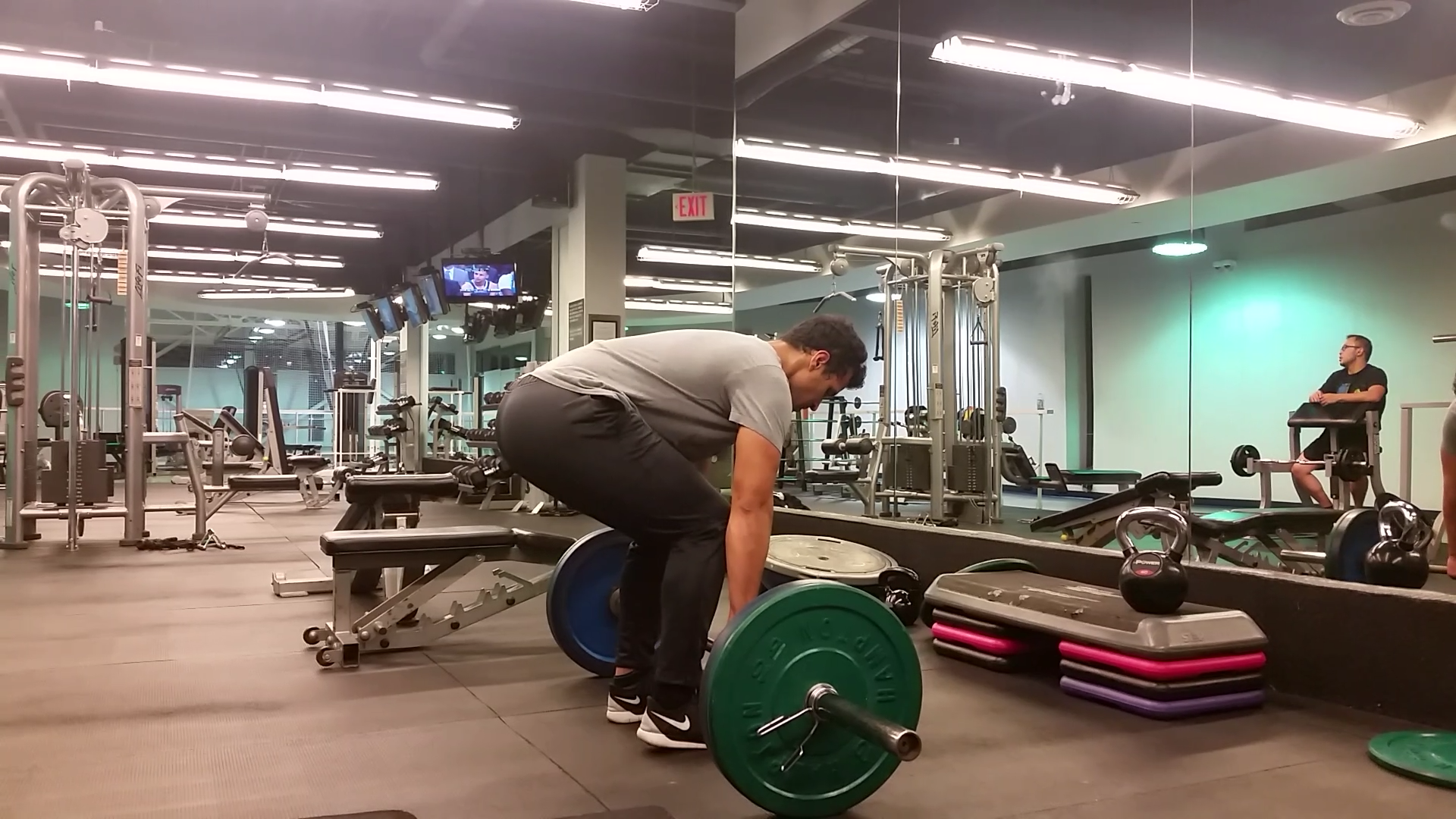 Conventional Barbell Deadlift (Back) 2