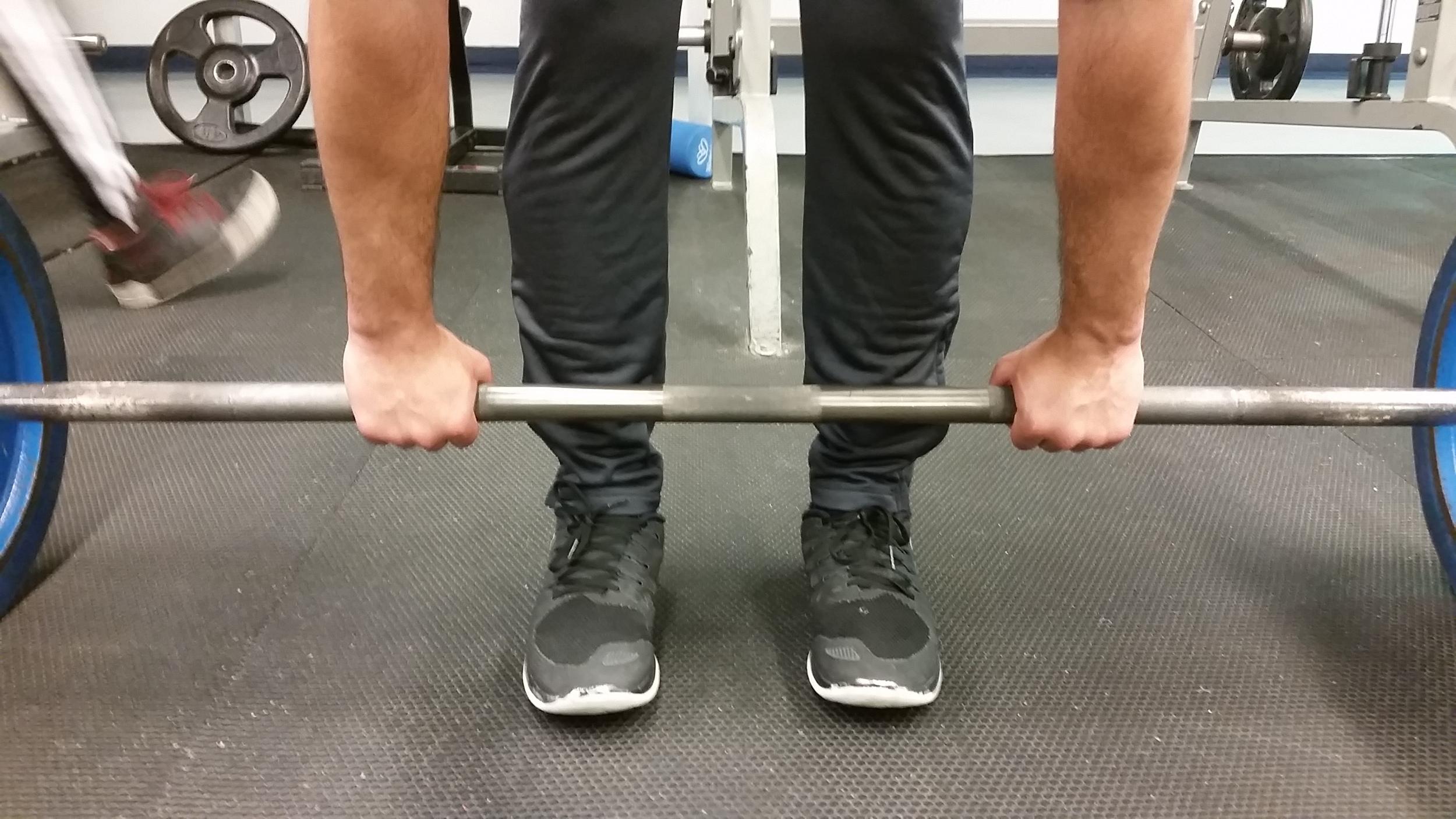 Barbell Deadlift Pronated Grip 1