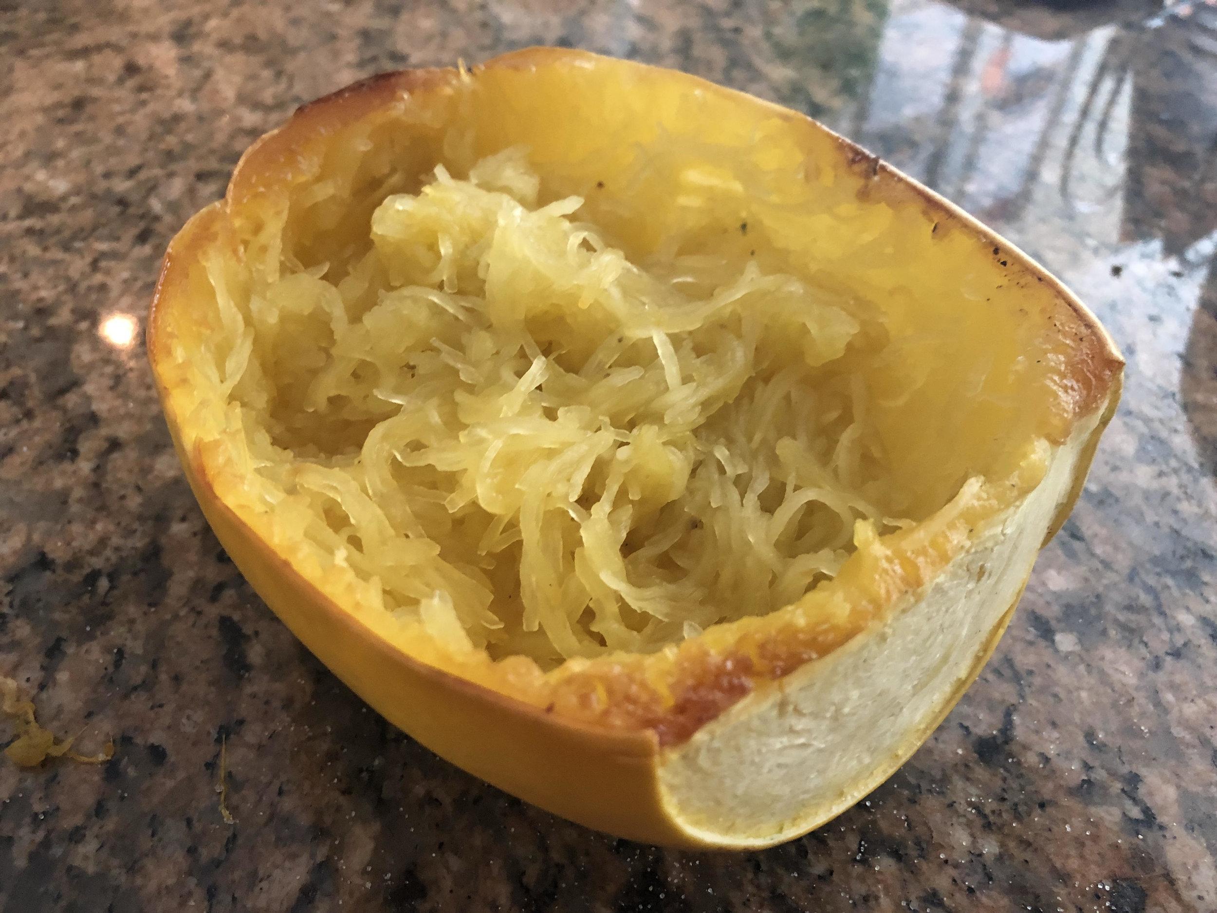 Spaghetti Squash Final Recipe