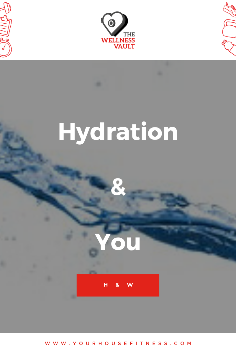 Stay Hydrated Drinking Water