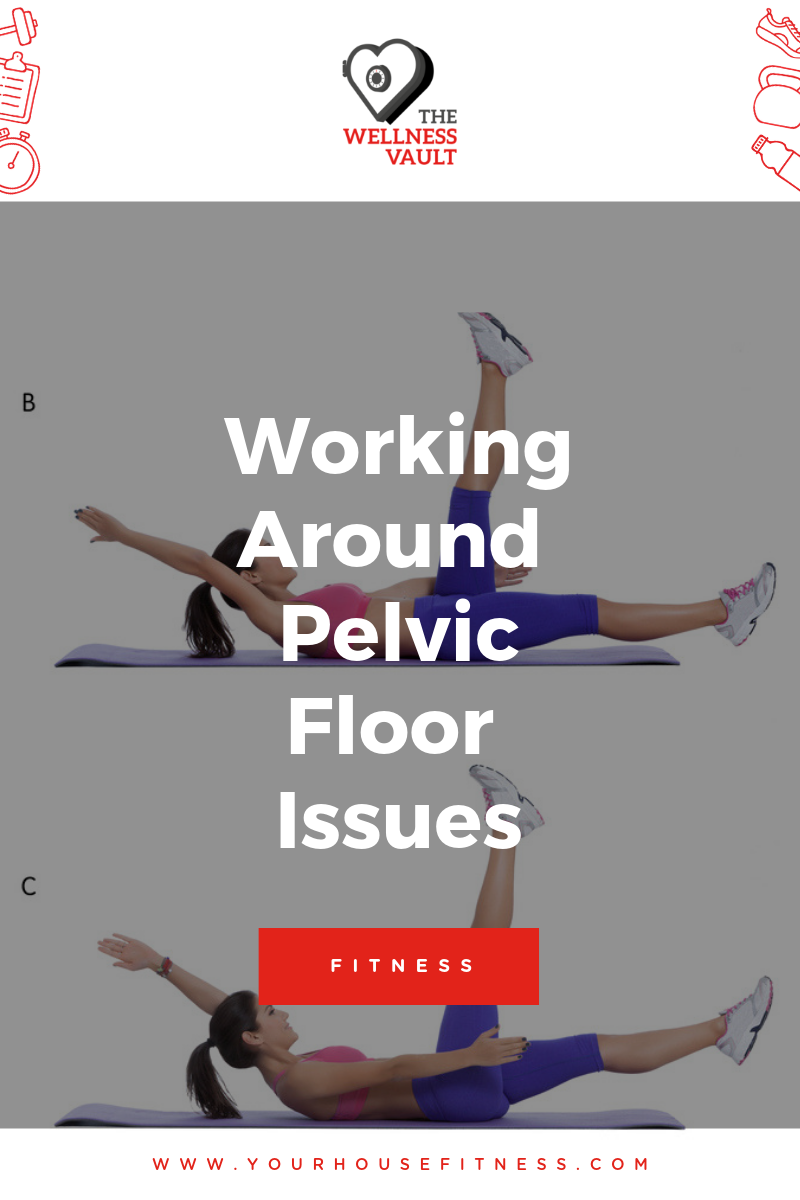 Working Around Pelvic Floor Issue Poster